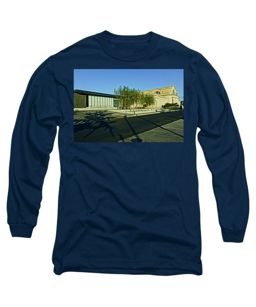St Louis Art Museum New And Old Long Sleeve T-Shirt by Greg Kluempers