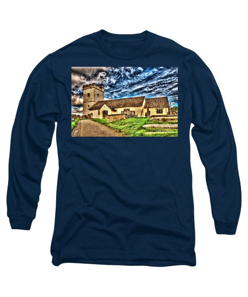 St Sannans Church Bedwellty Long Sleeve T-Shirt