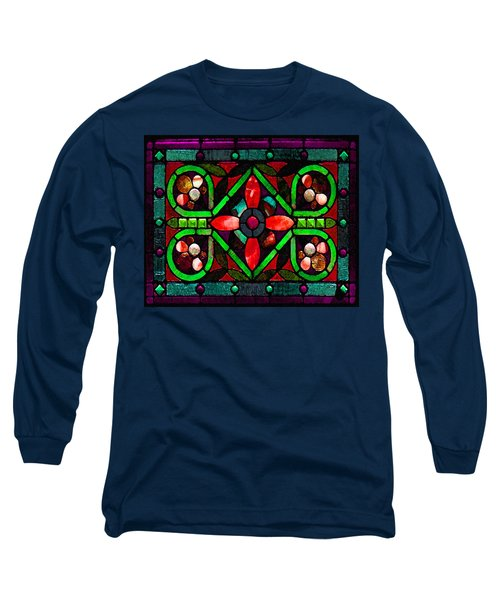 Stained Glass 2 Long Sleeve T-Shirt