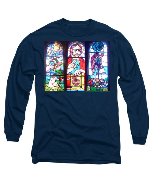 Stained Glass Window Long Sleeve T-Shirt