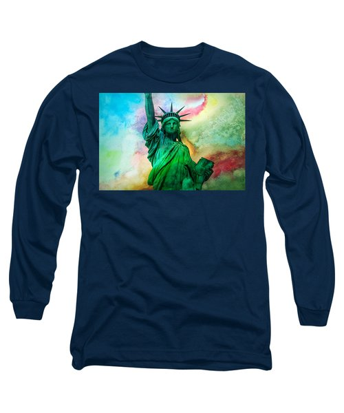 Stand Up For Your Dreams Long Sleeve T-Shirt by Az Jackson