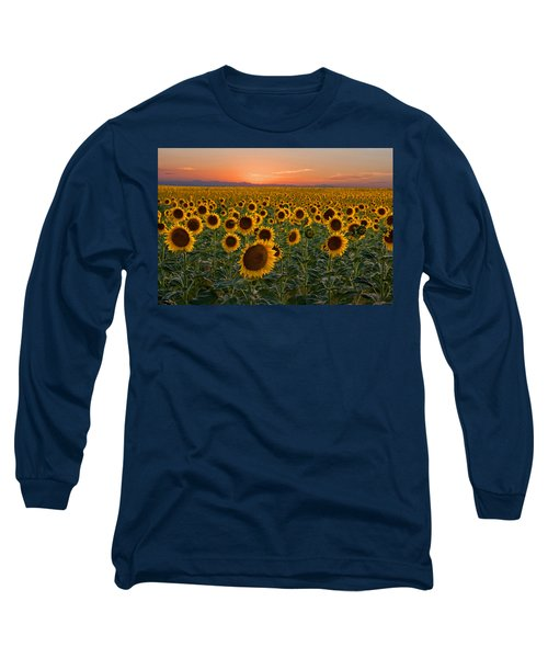 Standing At Attention Long Sleeve T-Shirt by Ronda Kimbrow