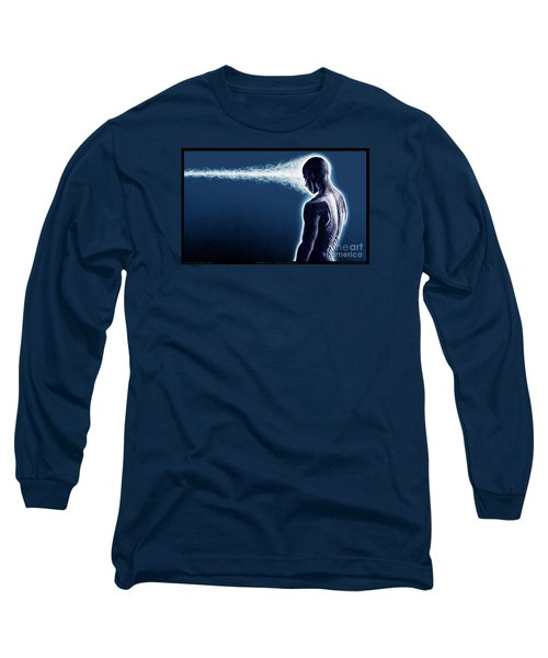 Standing Still Thoughts Proceeding Long Sleeve T-Shirt by Tony Koehl