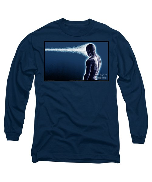 Standing Still Thoughts Proceeding Long Sleeve T-Shirt