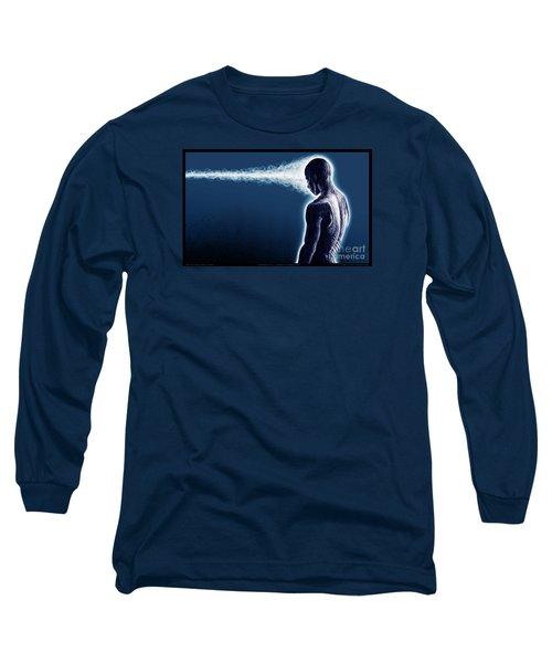 Standing Still Thoughts Proceeding Long Sleeve T-Shirt