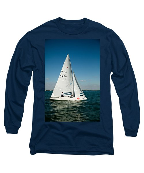 Star Sailboat Long Sleeve T-Shirt