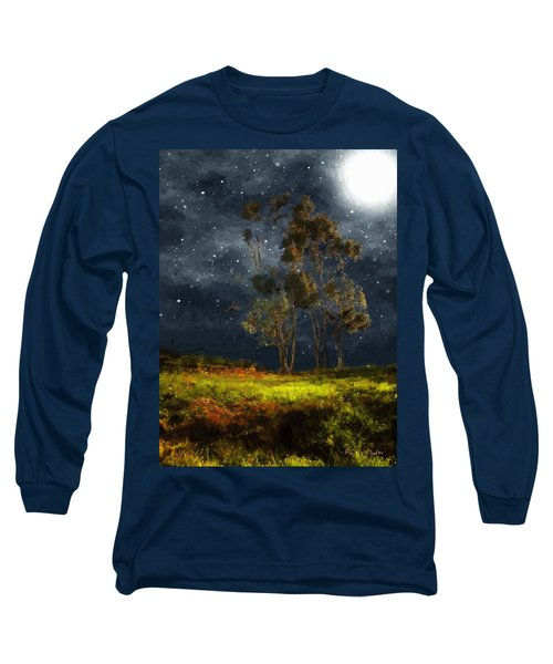Starfield Long Sleeve T-Shirt by RC deWinter