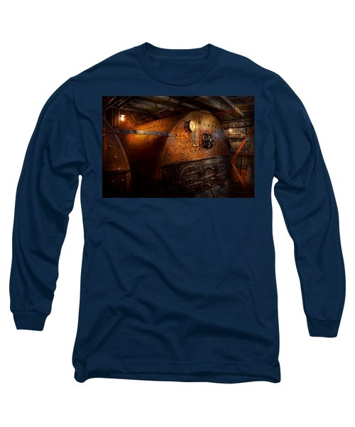 Steampunk - Plumbing - The Home Of A Stoker  Long Sleeve T-Shirt