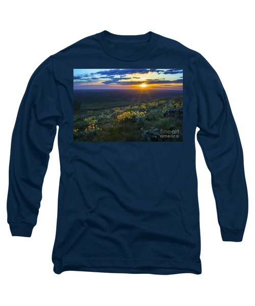 Steptoe Sunset Long Sleeve T-Shirt by Sonya Lang