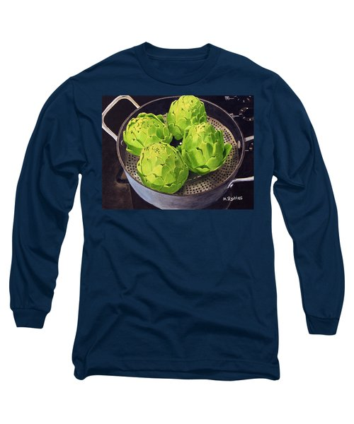 Still Life No. 6 Long Sleeve T-Shirt by Mike Robles
