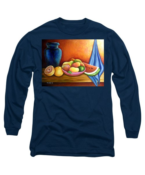 Still Life Of Fruits Long Sleeve T-Shirt