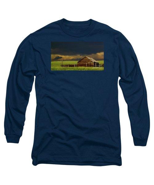 Storm Crossing Prairie 2 Long Sleeve T-Shirt