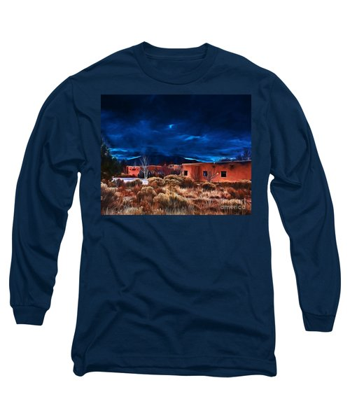 Storm Over Taos Lx - Homage Okeeffe Long Sleeve T-Shirt