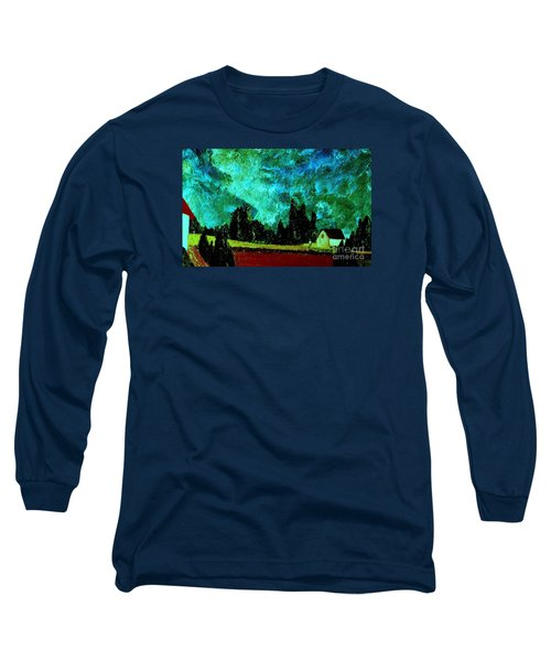 Long Sleeve T-Shirt featuring the painting Stormlight by Bill OConnor