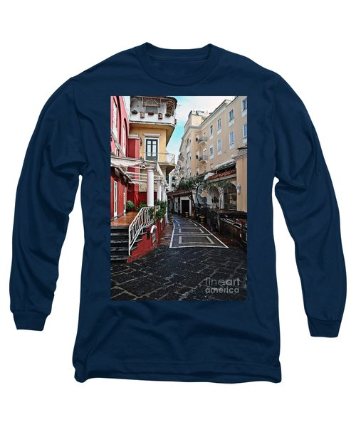 Street Of Capri Long Sleeve T-Shirt