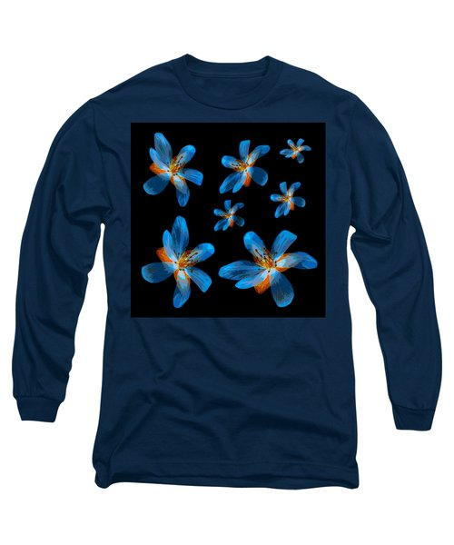 Study Of Seven Flowers #2 Long Sleeve T-Shirt