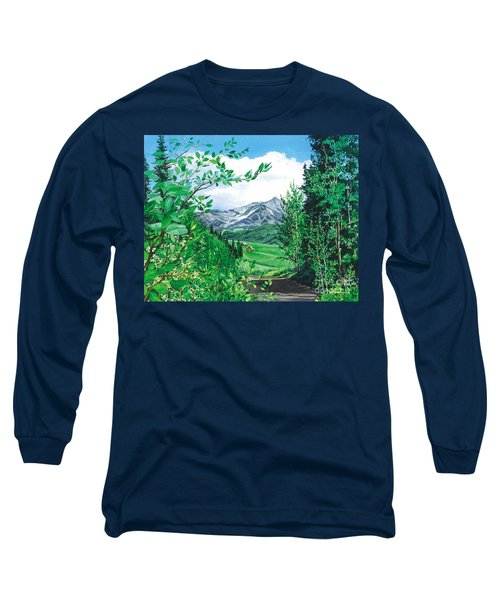 Summer Paradise Long Sleeve T-Shirt by Barbara Jewell