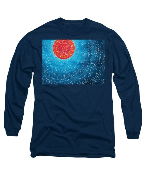 Summer Sun Original Painting Long Sleeve T-Shirt