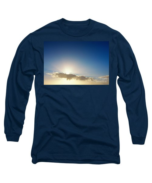 Sunbeams Behind Clouds Long Sleeve T-Shirt