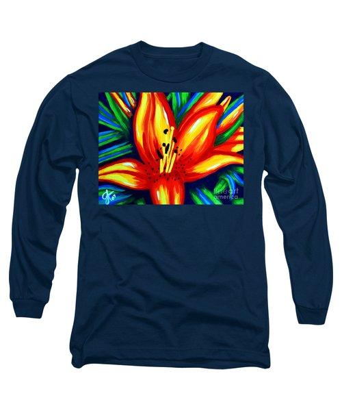 Sunburst Long Sleeve T-Shirt by Jackie Carpenter