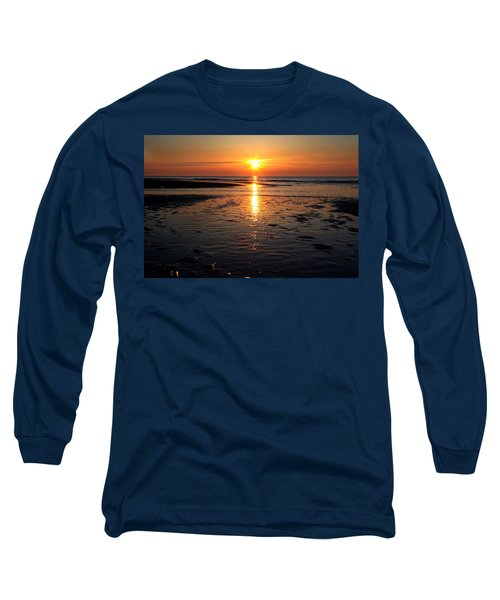 Sundown At The North Sea Long Sleeve T-Shirt