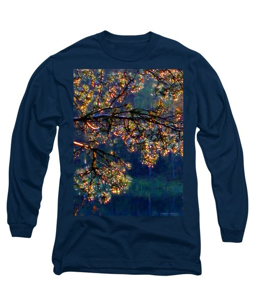 Long Sleeve T-Shirt featuring the photograph Sundrops by Leena Pekkalainen