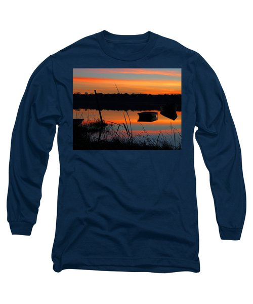 Long Sleeve T-Shirt featuring the photograph Sunrise Cove  by Dianne Cowen