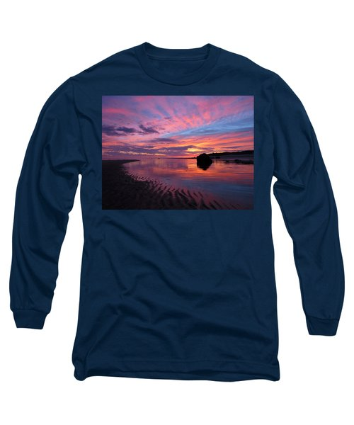 Long Sleeve T-Shirt featuring the photograph Sunrise Drama by Dianne Cowen