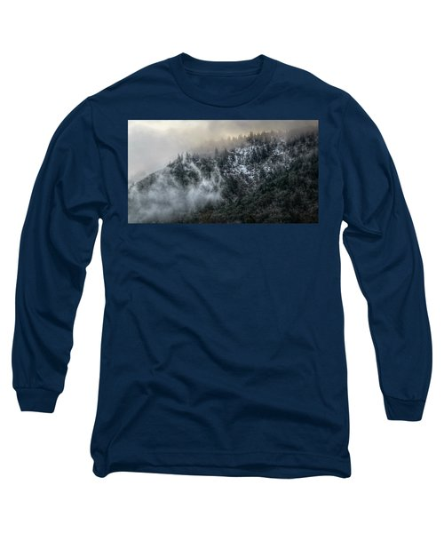 Long Sleeve T-Shirt featuring the photograph Sunrise In The Clouds by Melanie Lankford Photography
