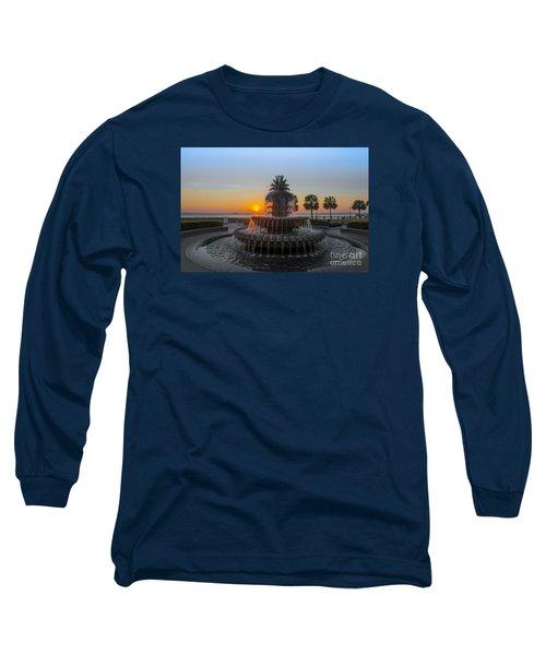 Sunrise Over Charleston Long Sleeve T-Shirt