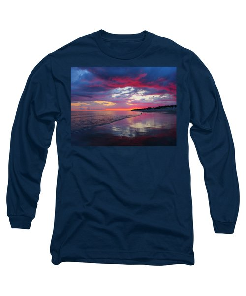 Long Sleeve T-Shirt featuring the photograph Sunrise Sizzle by Dianne Cowen