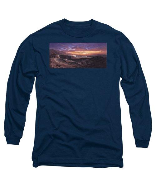 Sunset At Big Sur Long Sleeve T-Shirt