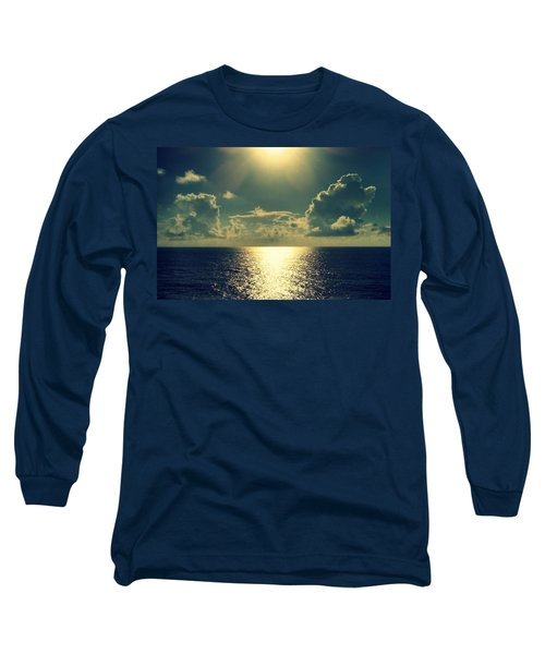 Sunset On The Atlantic Ocean Long Sleeve T-Shirt