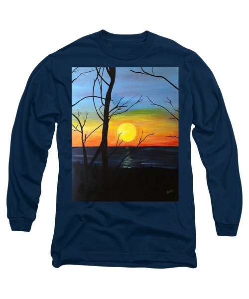 Sunset Through The Branches Long Sleeve T-Shirt