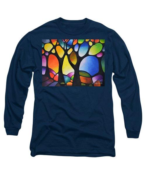 Sunset Trees Long Sleeve T-Shirt