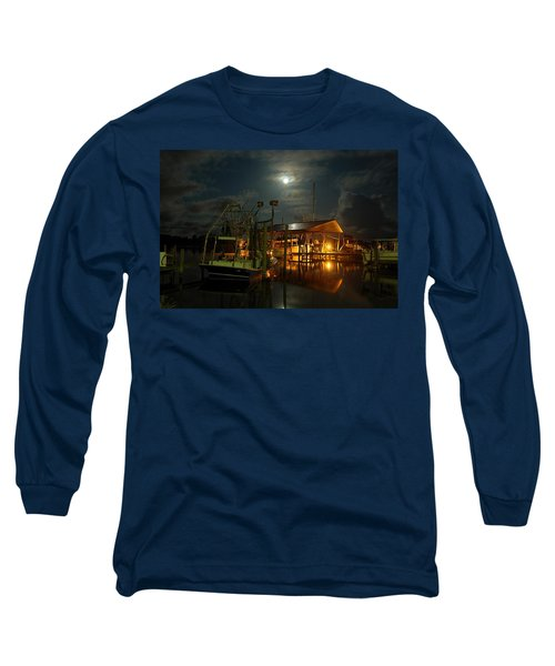 Super Moon At Nelsons Long Sleeve T-Shirt