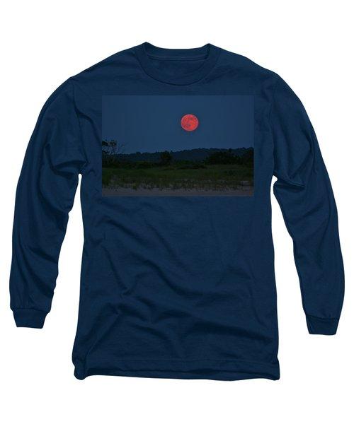 Super Moon July 2014 Long Sleeve T-Shirt