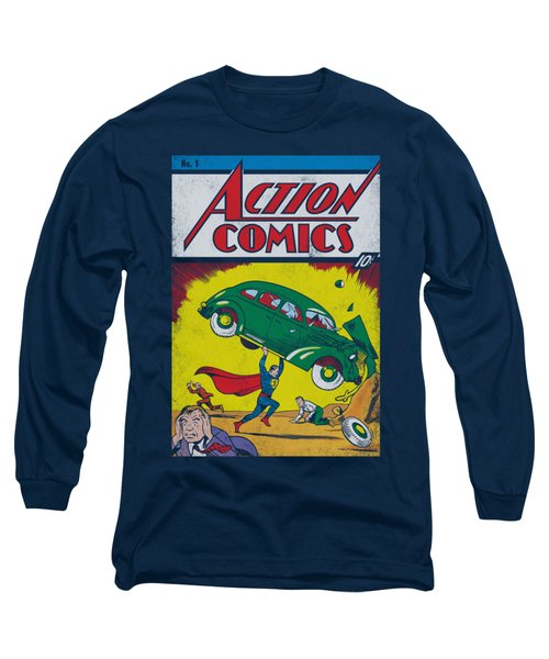 Superman - Action No. 1 Long Sleeve T-Shirt