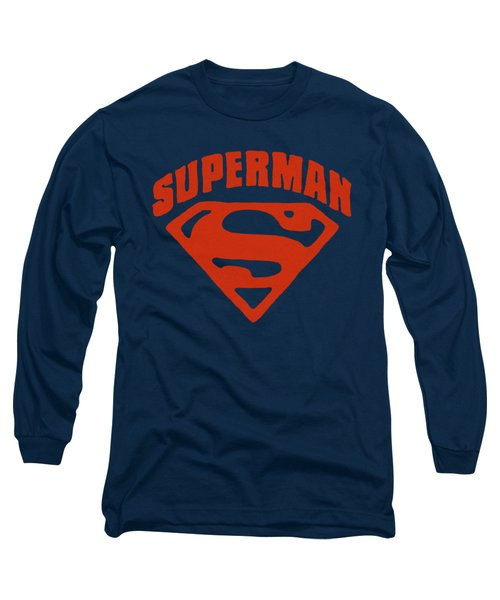Superman - Super Shield Long Sleeve T-Shirt
