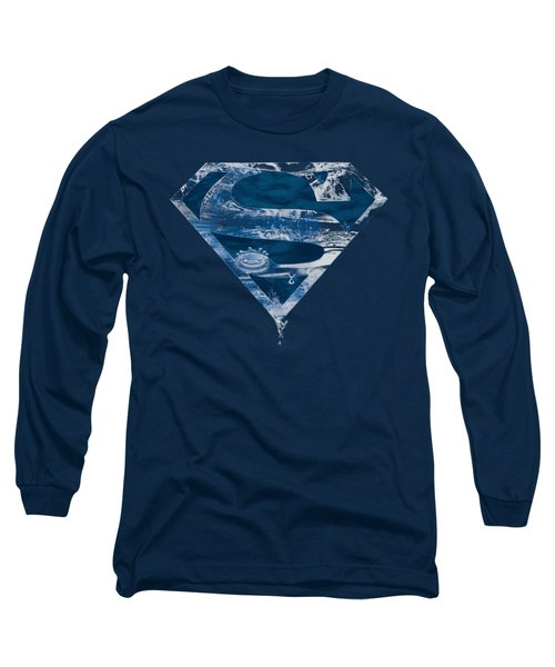 Superman - Water Shield Long Sleeve T-Shirt