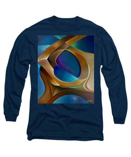 Support Long Sleeve T-Shirt by Claudia Goodell