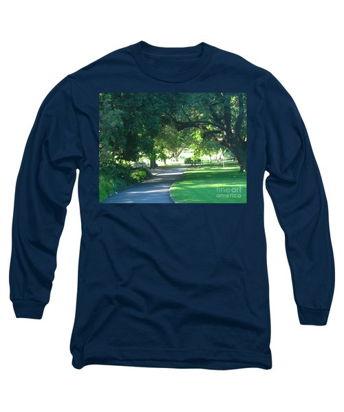 Sydney Botanical Gardens Walk Long Sleeve T-Shirt by Leanne Seymour