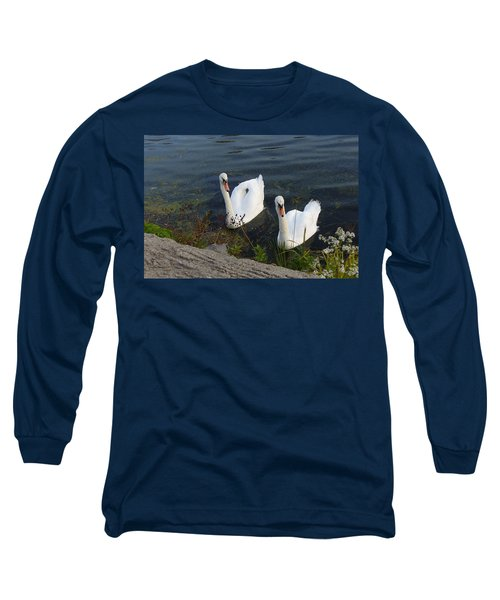 Long Sleeve T-Shirt featuring the photograph Synchronicity by Lingfai Leung