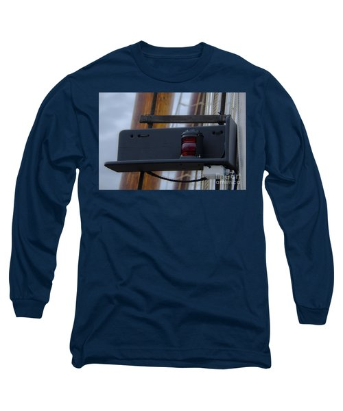 Long Sleeve T-Shirt featuring the photograph Tall Ship Bow Light by Dale Powell