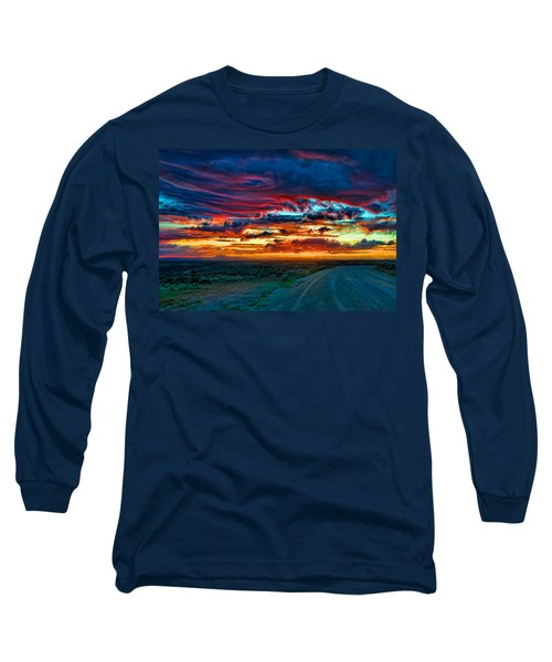 Taos Sunset Iv Long Sleeve T-Shirt