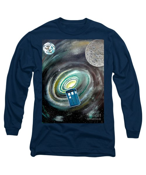Tardis Long Sleeve T-Shirt