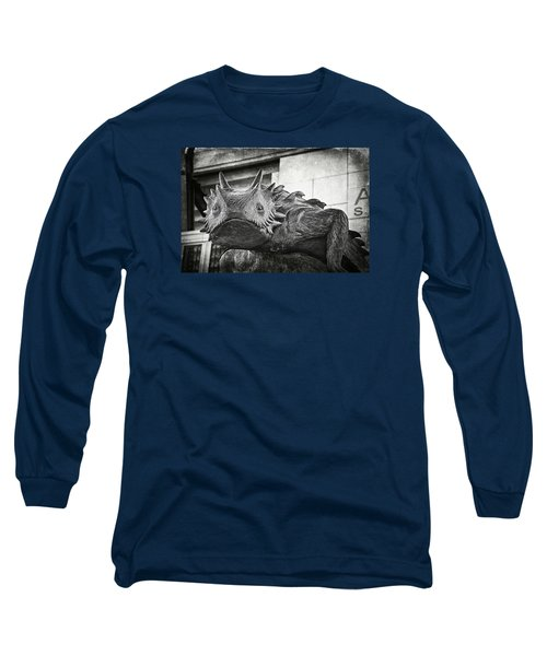 Tcu Horned Frog Bw Long Sleeve T-Shirt