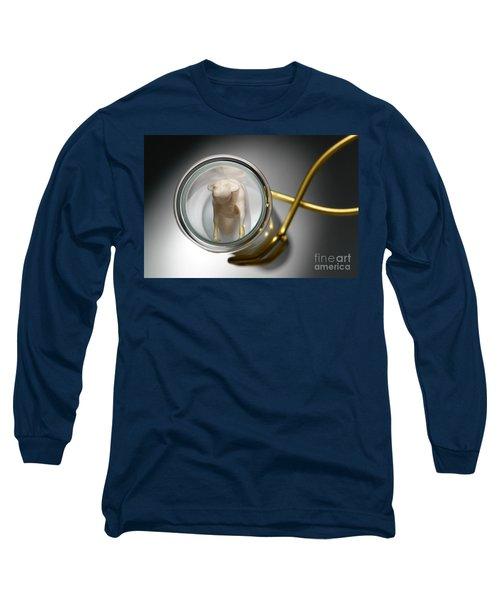 Test Tube Calf Long Sleeve T-Shirt