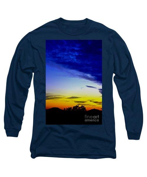 Texas Hill Country Sunset Long Sleeve T-Shirt