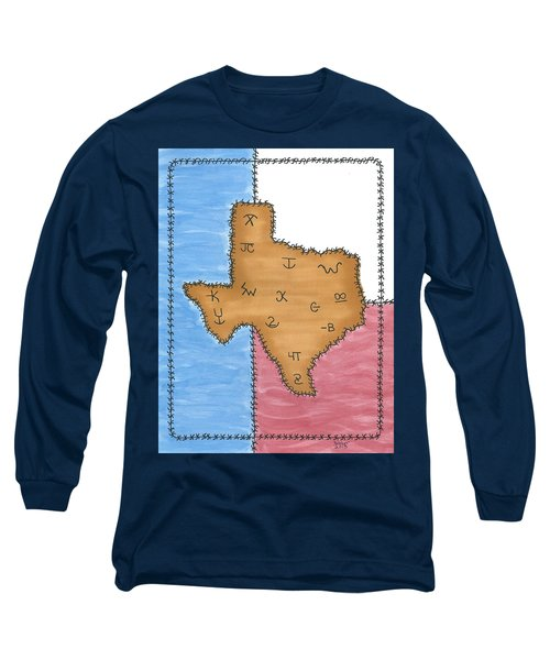 Texas Tried And True Red White And Blue Long Sleeve T-Shirt